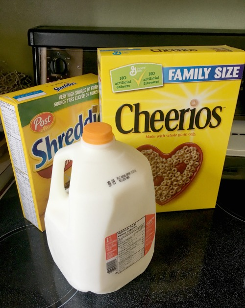 boxed cereal